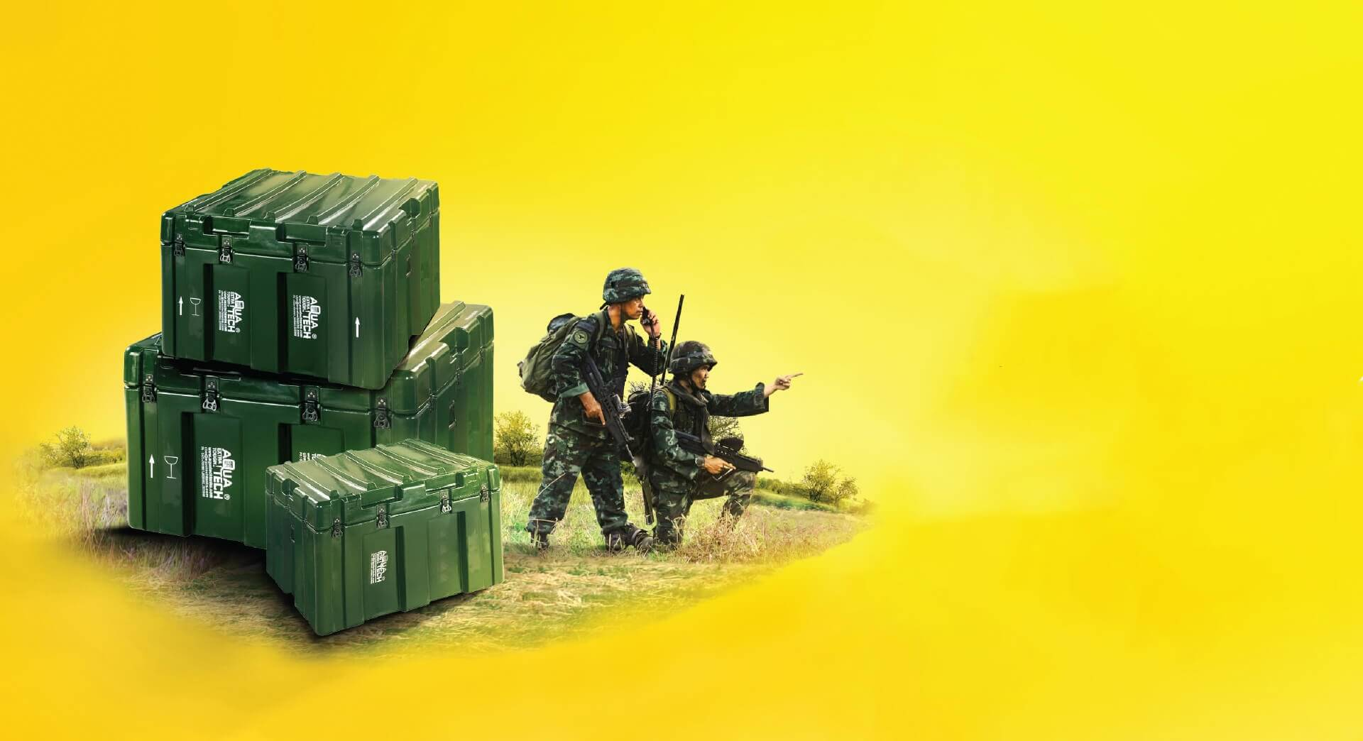 Military Transport Cases Manufacturers - Aquatech