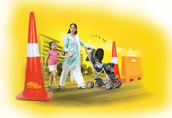 Road Safety Traffic Cones Manufacturers - Aquatech