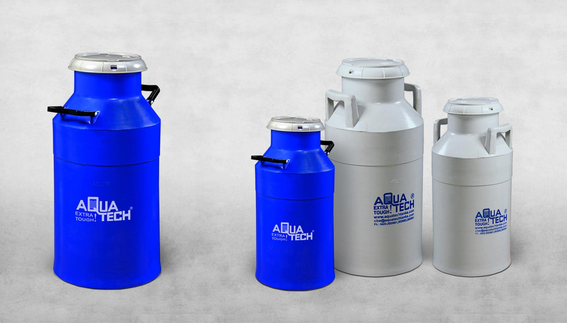 Plastic Milk can Suppliers in India - Aquatech