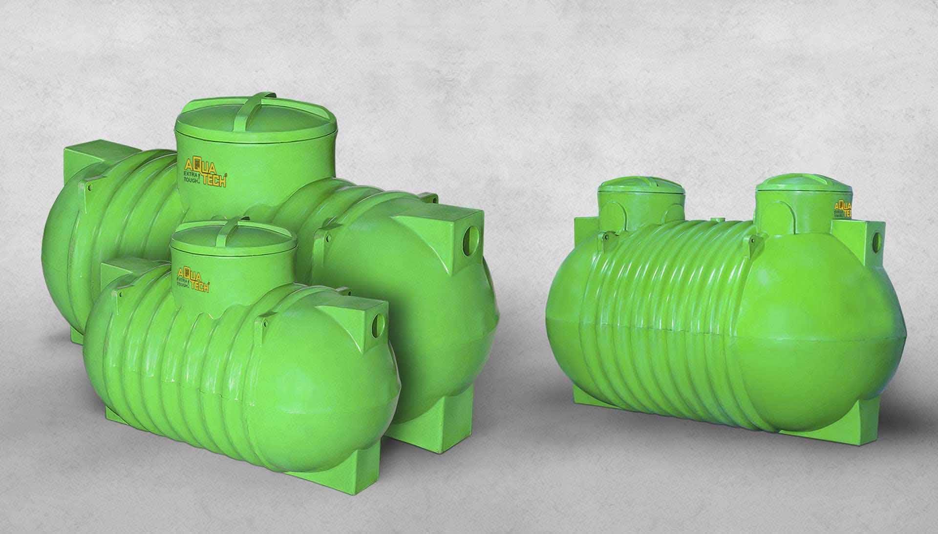 Plastic Septic Tank Dealers in India - Aquatech Tanks