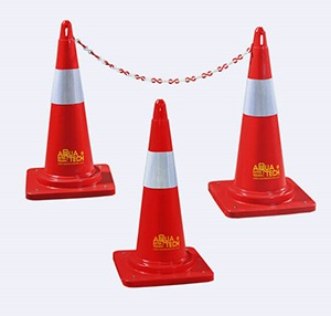 Road Safety Cone Manufacturers and Suppliers India - Aquatech Tanks