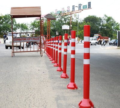 Flexible post - Delineator post suppliers in Coimbatore, India