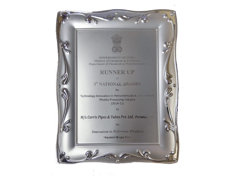 Silver - National Award