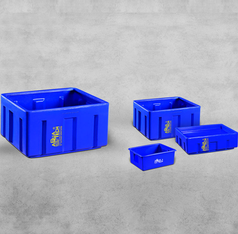 Crates & Doffing Boxes Manufacturers and Suppliers India - Aquatech Tanks